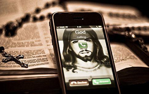 Iphone-god-calling